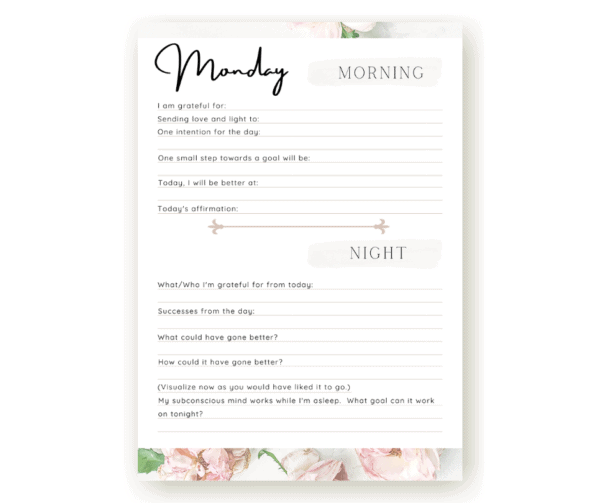 Finally Worry Free Printables